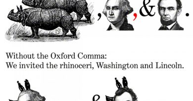 Oxford, comma or dilemma?