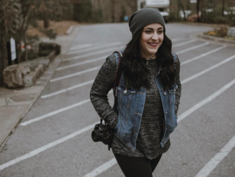 "Marissa Pilcher: the human senior behind popular ""Humans of OBU"""